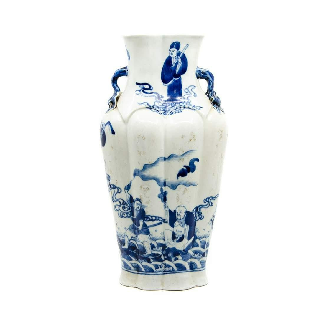 A Chinese Blue and White Ceramic Vase
