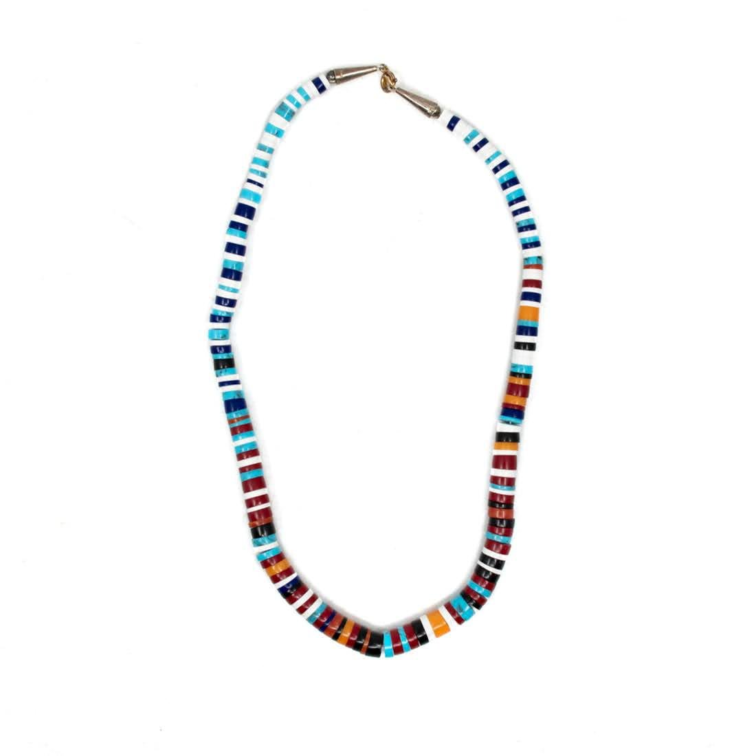 Kingman Turquoise and Jasper Beaded Necklace