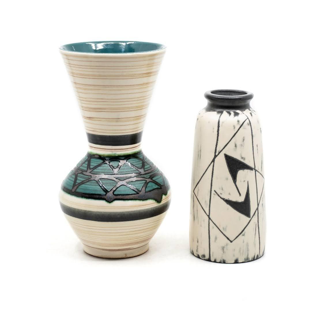 Carstens-Tonnieshof 664-18 and Danmark Vases