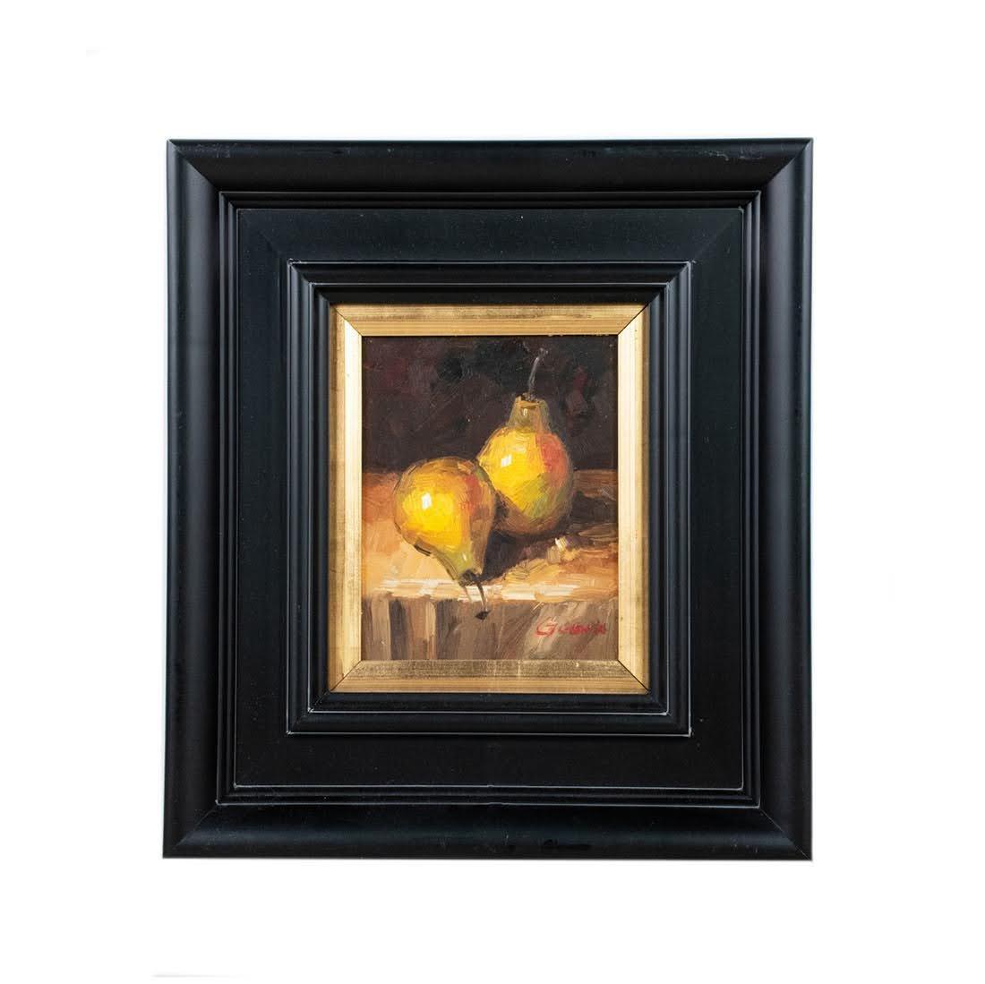 Fruit Still Life O/C Painting Signed