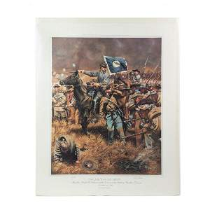 """Rick Reeves """"Twilight of an Army"""" Signed Print 661/750"""