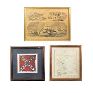 Grouping of Civil War Prints
