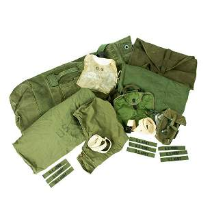 50-60's Era US Army Rucksack and Accessories