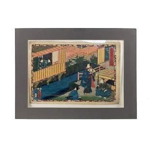 Kunisada Utagawa Woodblock Print