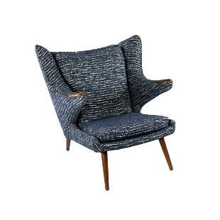 Hans Wegner Mid-Century Modern Papa Bear Chair