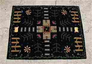 Homespice Decor Folk Art Indian Applique Felt & Wool