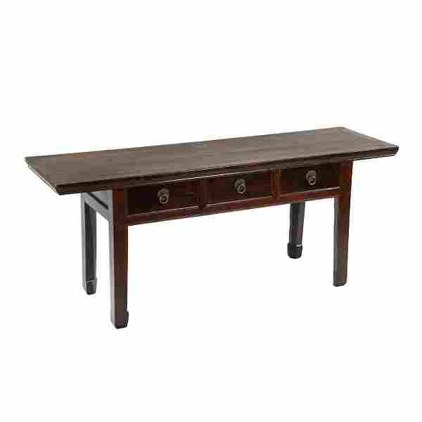 19th C. Chinese Ming Kang Low Altar Table