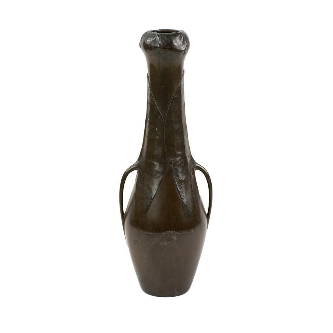 Art Nouveau Secessionist Bronze Vase