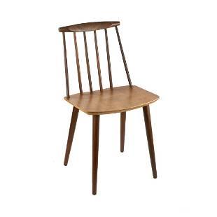 Mobler Danish Modern Spindle Back Chair