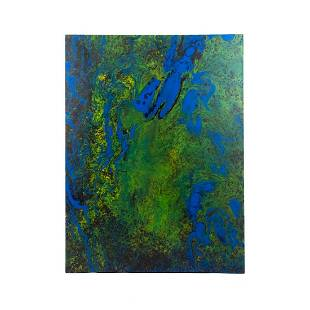 Dale Threlkeld 'Days of Magic' Signed Acrylic on Canvas