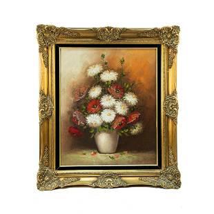 Rose Pascalaubin Signed Oil on Canvas