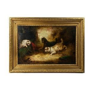 James Bateman Signed Oil on Canvas