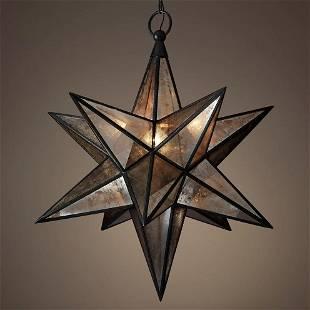 Restoration Hardware Large Moravian Star Pendant