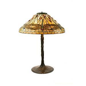 Tiffany Studios 'Dragonfly' Table Lamp