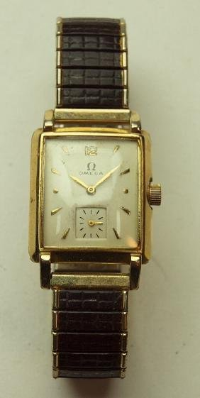 Omega vintage mens wrist watch