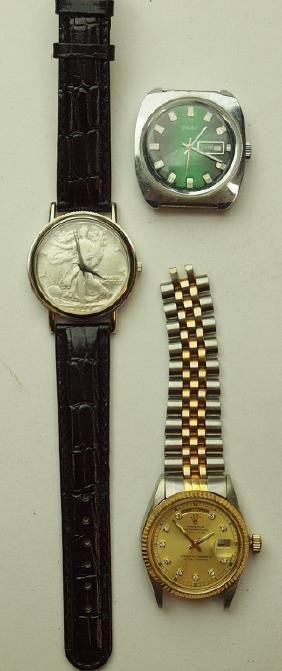 Lot of 3 mens wrist watches