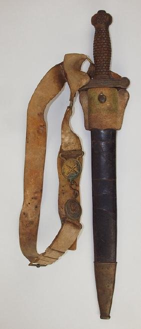 US Civil War Calvery Artillery sword and scabbord with