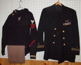 US Military officers uniform and navel uniform