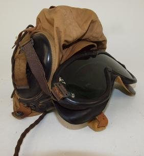 US Military pikot headset and goggles, Western Electric