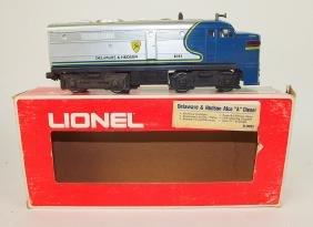 """Lionel train engine: Delaware-Hudson Alco """"A"""" Diesel"""
