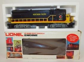 Lionel train engine Northern Pacific 8857, U36B,