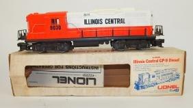 Lionel train engine Illinois Central 8030 GP9 Diesel,