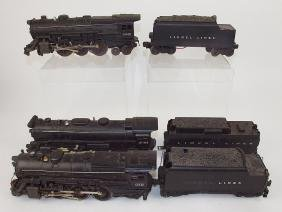 Lionel set of 3 train engines: #2025, 2065, 675, and 3