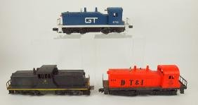 Lionel lot of 3 train engines GT8761, Northern Pacific