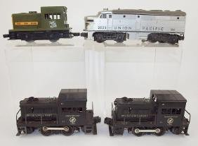 Lot of 4 train engines: Lionel Union Pacific 2023,