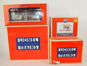 Lionel lot of 4 accessories: LRRC station platform