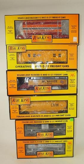 MTH Rail King lot of 6 cars