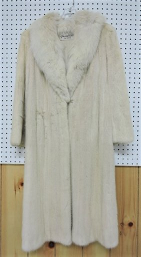 Greenblatts labeled sable mink coat