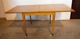 Mid century modern flip top table in the style of