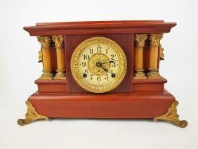 Seth Thomas mantle clock with columns