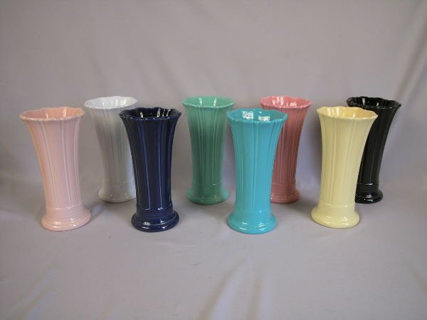 "1A: New Fiesta 10"" Vase Group"