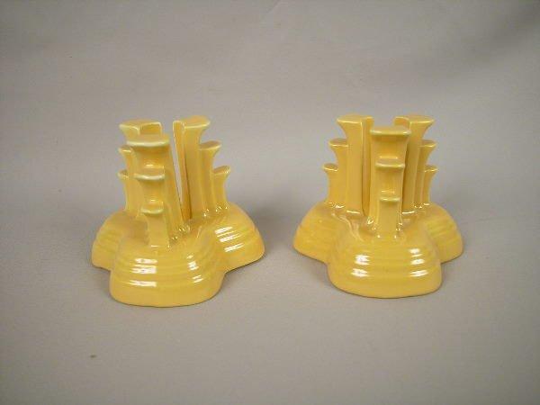 506: Fiesta Tripod Candle Holders