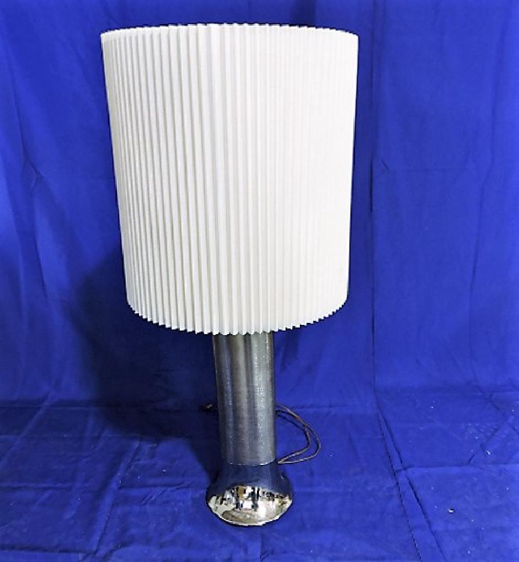 "Laurel Lamp Mid Century Modern chrome table lamp 37"""