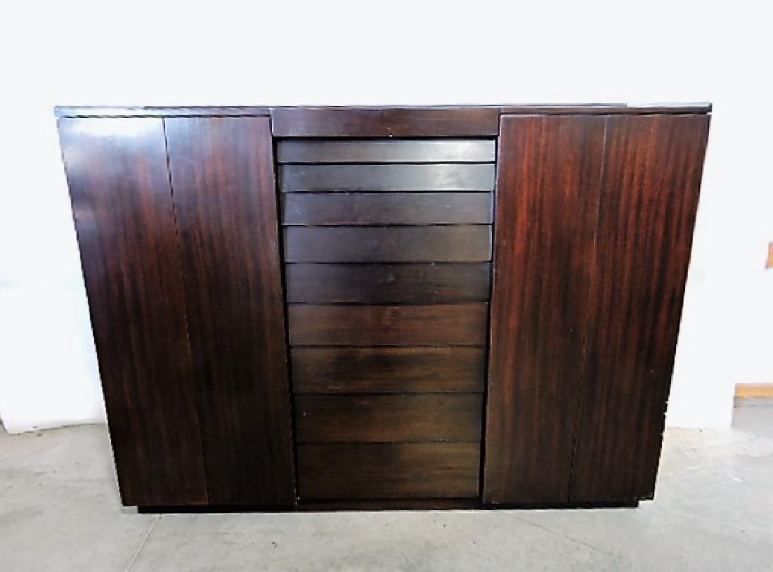 Dunbar Mid Century Modern 3 pc bedroom suite, dresser - 2