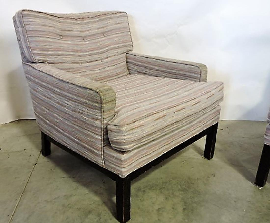 Directional #667 Mid Century Modern pair of lounge - 2