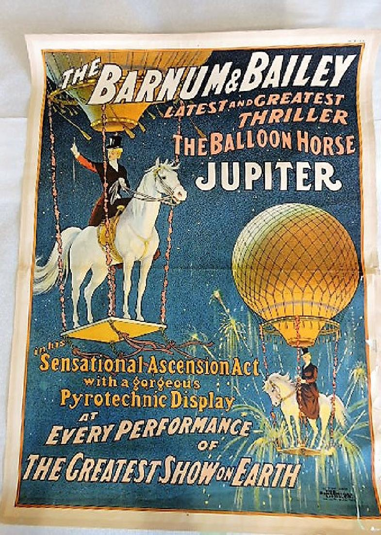 "The Barnum & Bailey ""Latest and Greatest Thriller the"