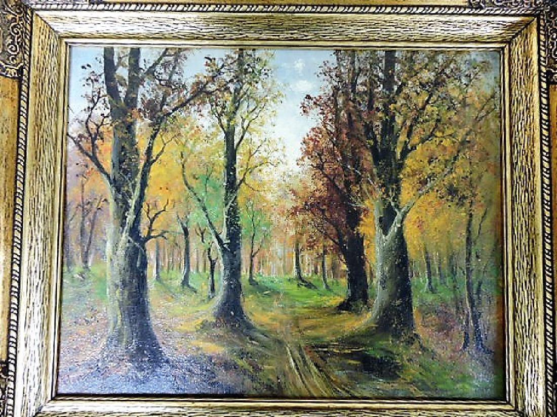 Hans Klement (Austria b. 1860) oil on canvas of