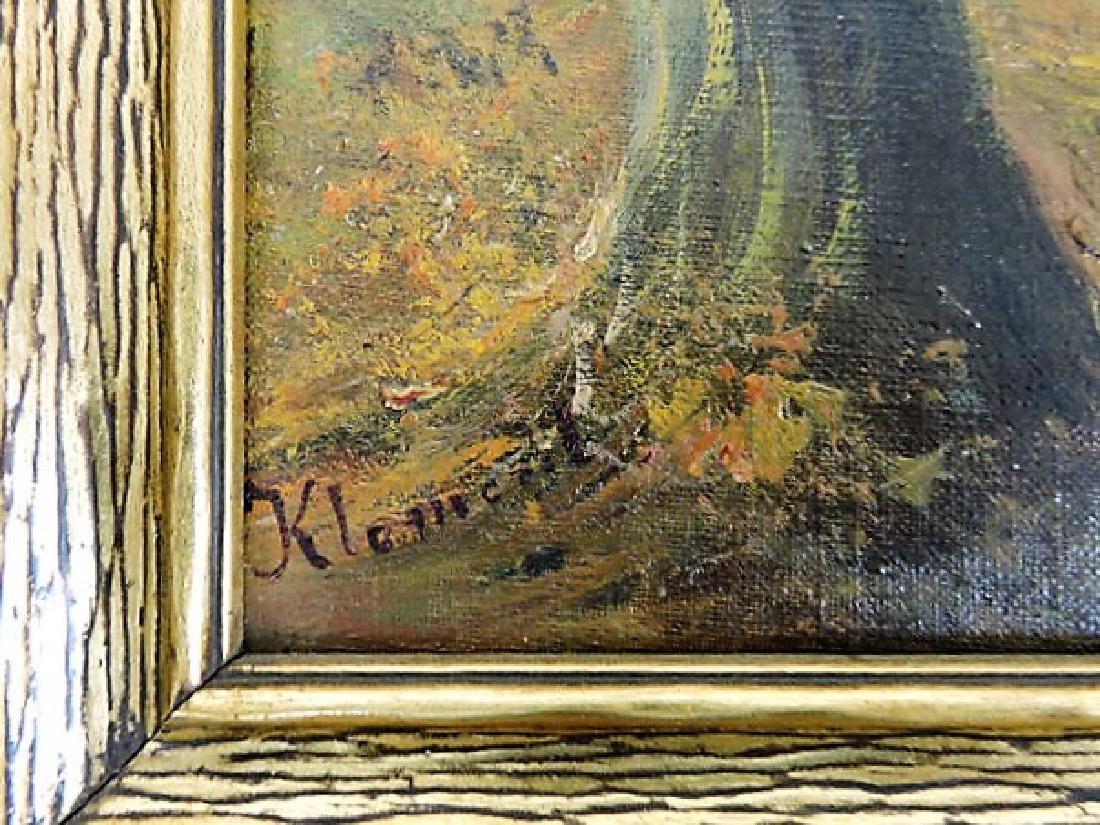 Hans Klement (Austria b. 1860) oil on canvas of - 2