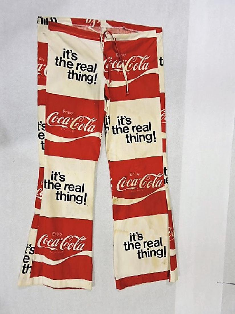 Coca Cola lot of 2 pair of pants with bell bottoms