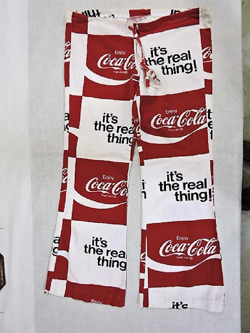 Coca Cola lot of 2 pair of pants with bell bottoms - 2