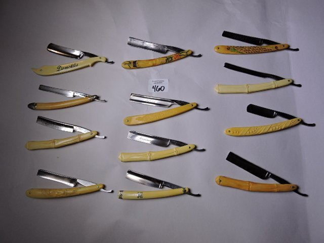 Straight razor lot of 12 - 2