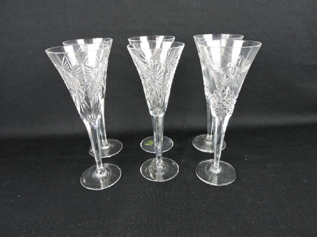 Waterford crystal Millennium set of 6 toasting