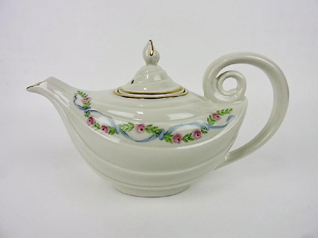 Hall China teapot, wildfire