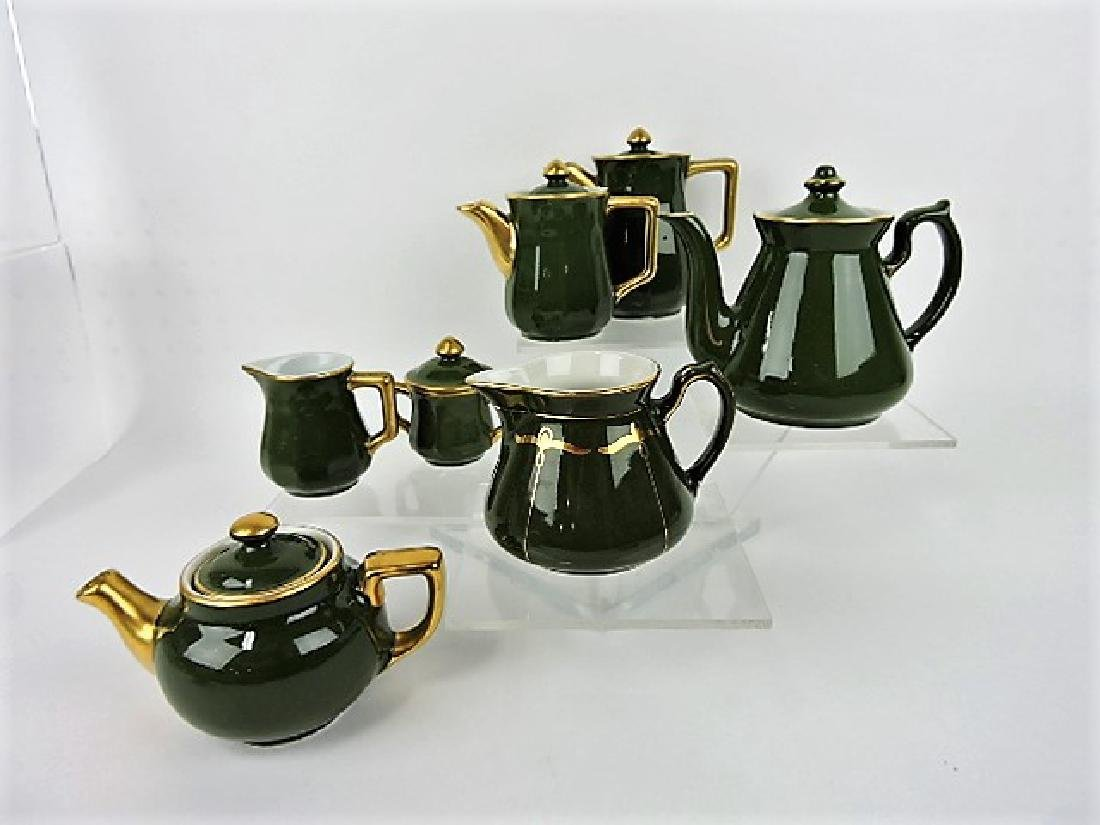 Hall China lot of Bellevue and Boston green
