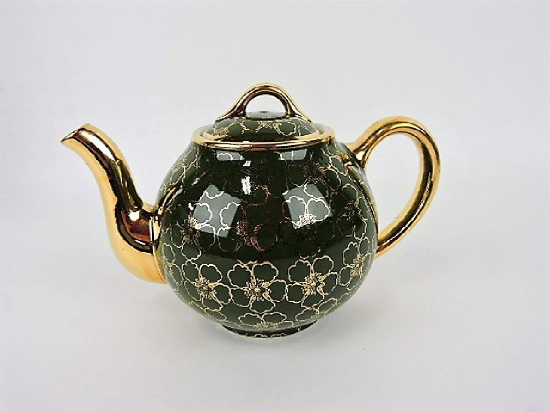 Hall China  teapot, French Flower stock