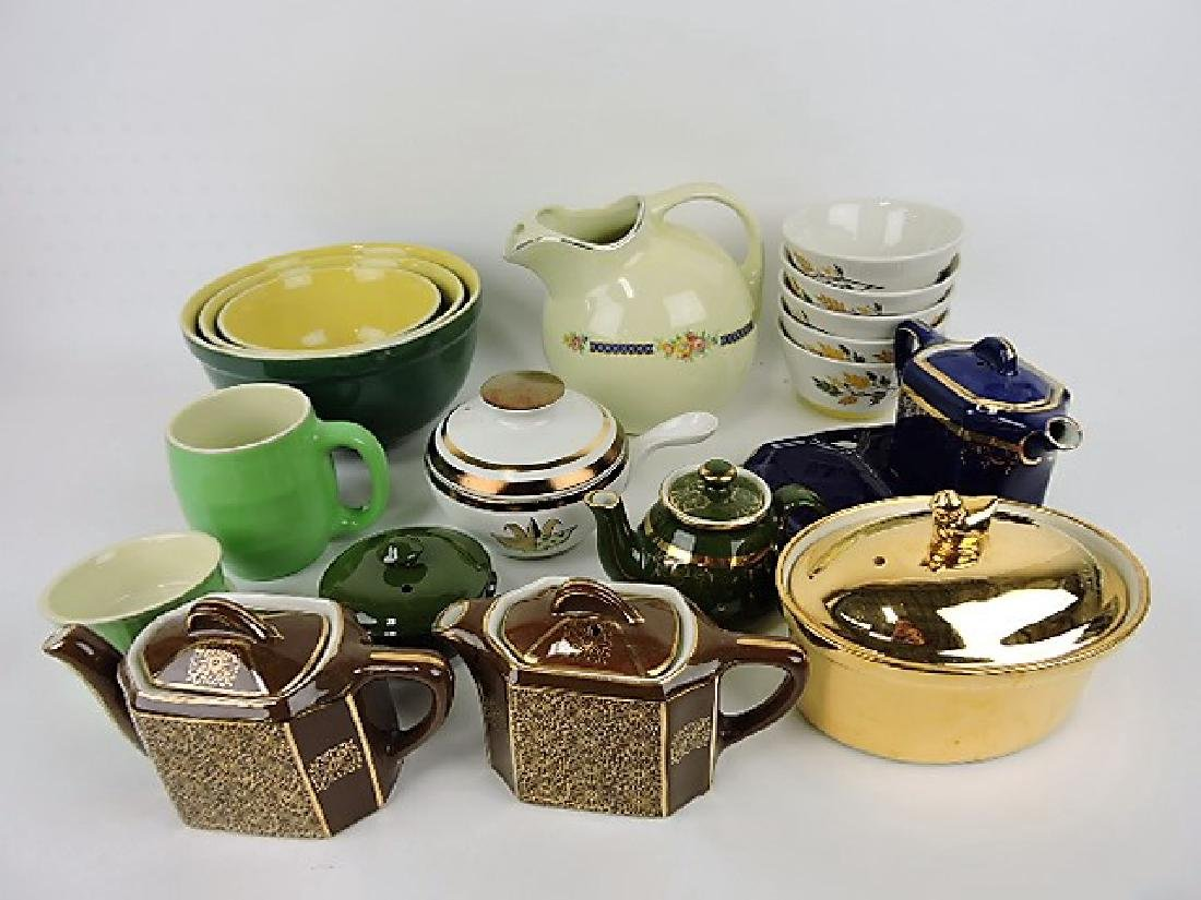 Hall China lot of 20 assorted items